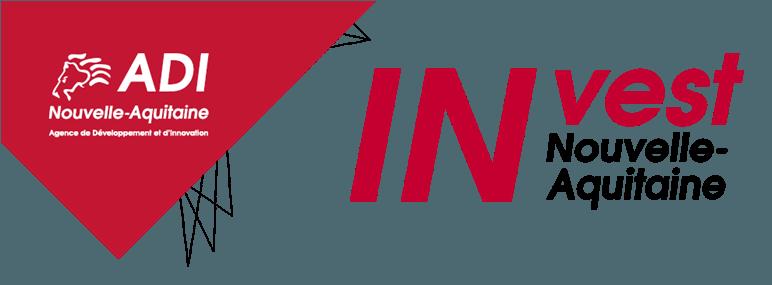 Invest in Nouvelle Aquitaine Logo